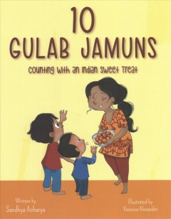 10 gulab jamuns - counting with an Indian sweet treat