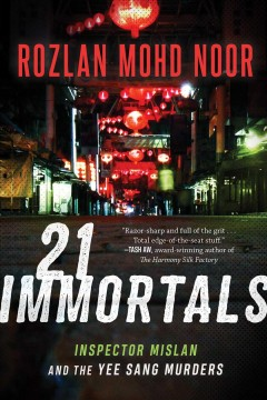 21 immortals - Inspector Mislan and the Yee Sang murders