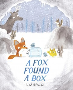 A fox found a box