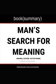 Book(summary) Man's search for meaning