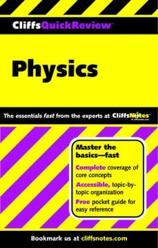 CliffsQuickReview-physics