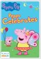 Peppa Pig. Peppa celebrates.