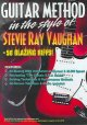 Guitar method in the style of Stevie Ray Vaughan