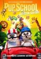 Pup school. African safari