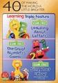 Sesame Street. Learning triple feature.