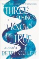Three things I know are true : a novel