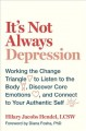 It's not always depression : working the change triangle to listen to the body, discover core emotions, and connect to your authentic self