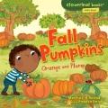 Fall pumpkins : orange and plump