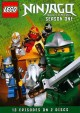 Lego Ninjago, masters of spinjitzu. Season 1, disc 1