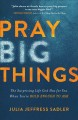 Pray big things : the surprising life God has for you when you're bold enough to ask