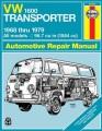 VW Transporter 1600 automotive repair manual