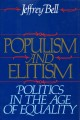 Populism and elitism : politics in the age of equality