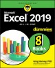 Excel® 2019 all-in-one
