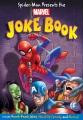 Spider-Man presents the Marvel joke book.