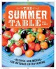 The summer table : recipes and menus for casual outdoor entertaining