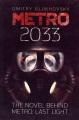 Metro 2033 : the novel behind Metro: last light