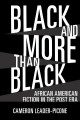 Black and more than black : African American fiction in the post era