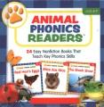 Animal phonics readers : 24 easy nonfiction books that teach key phonics skills