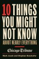 10 Things You Might Not Know About Nearly Everything