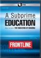 A subprime education