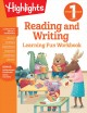 Reading and writing. First Grade : learning fun workbook.