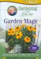 Gardening with Jerry Baker. Garden magic amazing tips, tricks, and tonics.