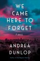 We came here to forget : a novel