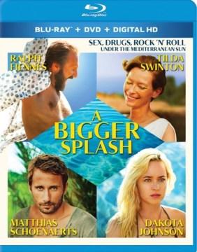 A bigger splash [videorecording (Blu-ray + DVD)]