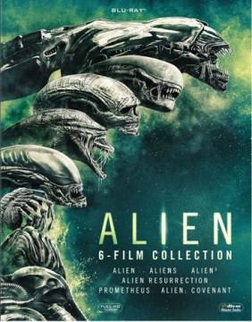 Alien [videorecording (Blu-ray)] : 6-film collection.