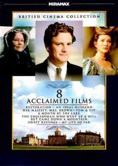 British cinema collection [videorecording (DVD)] : 8 acclaimed films.