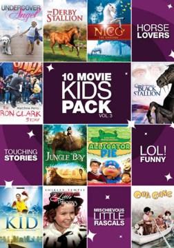 10 movie kids pack. Vol. 3 [videorecording (DVD)]