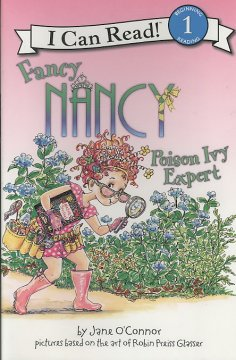 Fancy Nancy, poison ivy expert