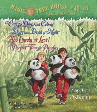 Magic tree house. Books 45 & 48 [sound recording (book on CD)]