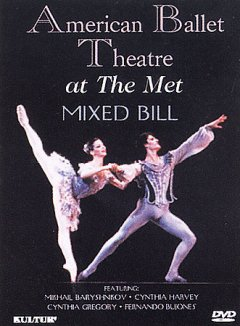 American ballet theatre at the Met [videorecording (DVD)] : mixed bill