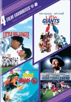 4 film favorites [videorecording (DVD)] : kids' sports collection.