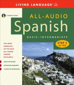 All-audio Spanish. Basic-intermediate. [sound recording (CD)] : step 2 of two.