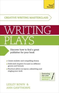 Masterclass : writing plays