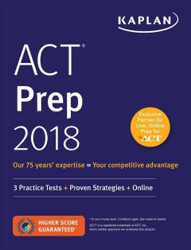 ACT prep 2018.