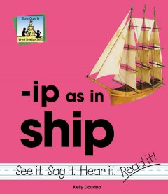 -Ip as in ship
