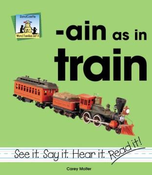 -Ain as in train