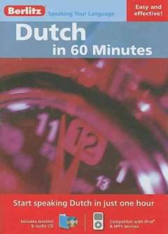 Dutch in 60 minutes [sound recording (CD)].