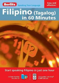 Filipino (Tagalog) in 60 minutes [sound recording (CD)].