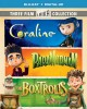 LAIKA three film collection : Coraline ; ParaNorman ; The Boxtrolls.
