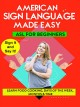 American sign language. Learn food, cooking, days of the week, months & time