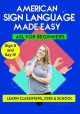 Sign language made easy. Learn classifiers, jobs & school