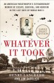 Whatever it took : an American paratrooper