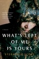 What's left of me is yours :[RELEASE DATE JUN 2020] a novel