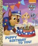 Puppy birthday to you!