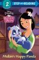 Mulan's happy panda