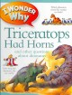 I wonder why triceratops had horns and other questions about dinosaurs